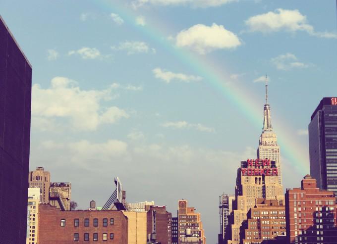 成長したい気持ち 虹