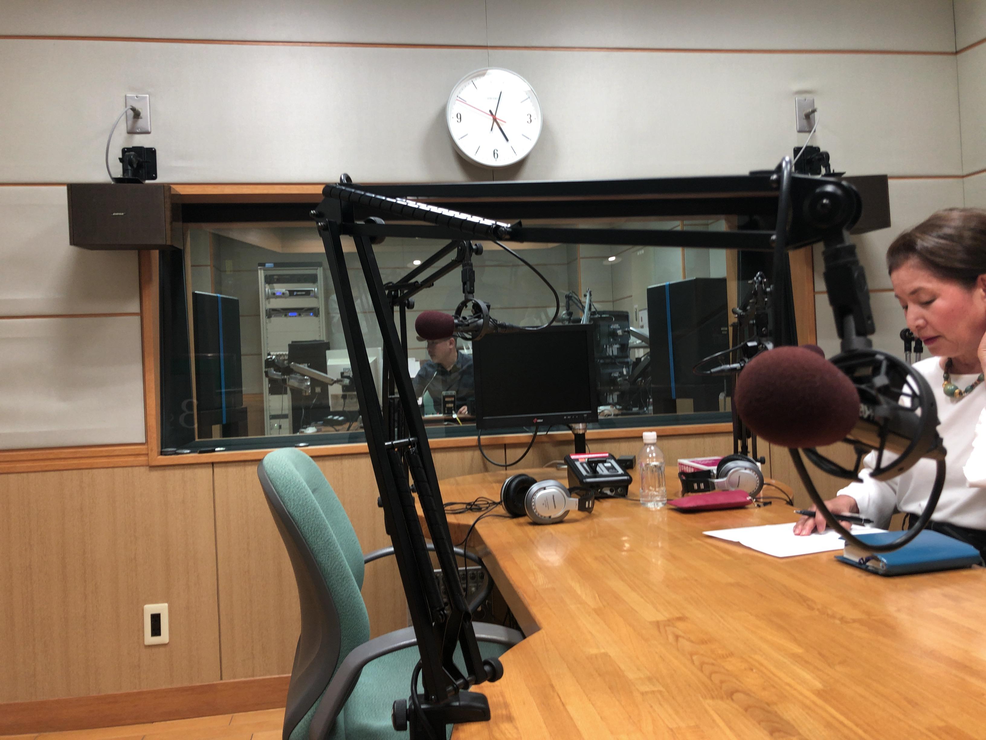 FMラジオでコーチングの話をしてきました。